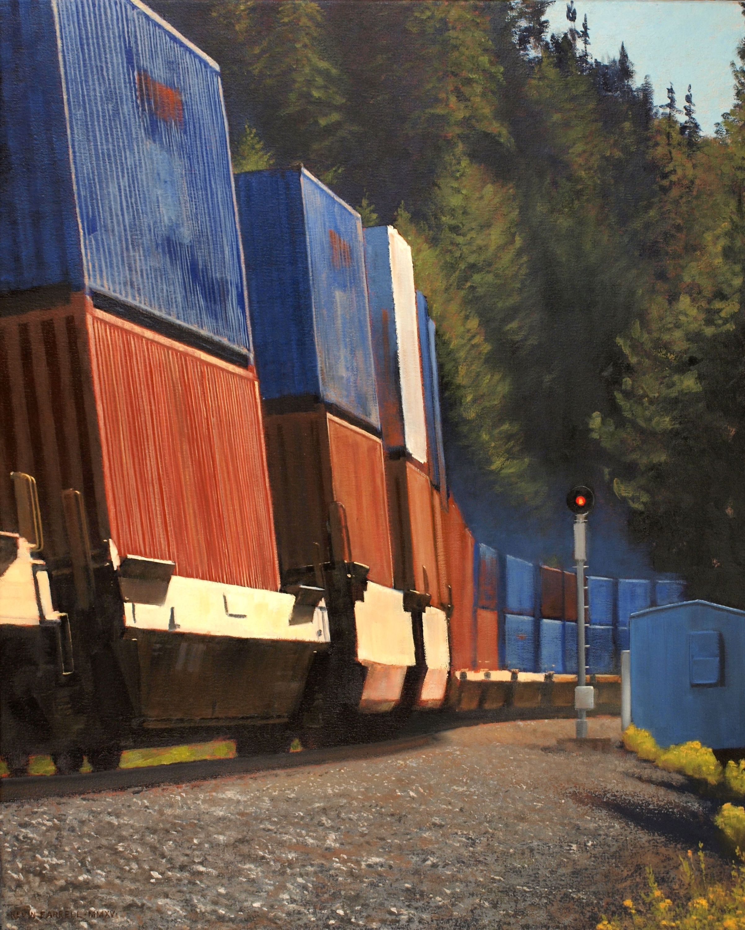 Container Train - Kevin Farrell