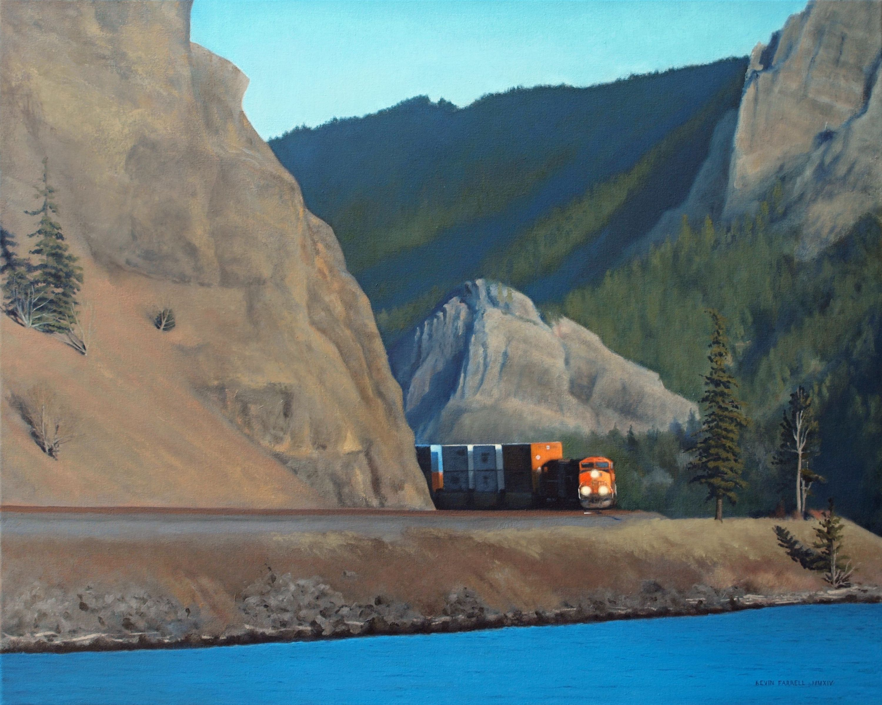 FastFreight Along The Columbia - Kevin Farrell