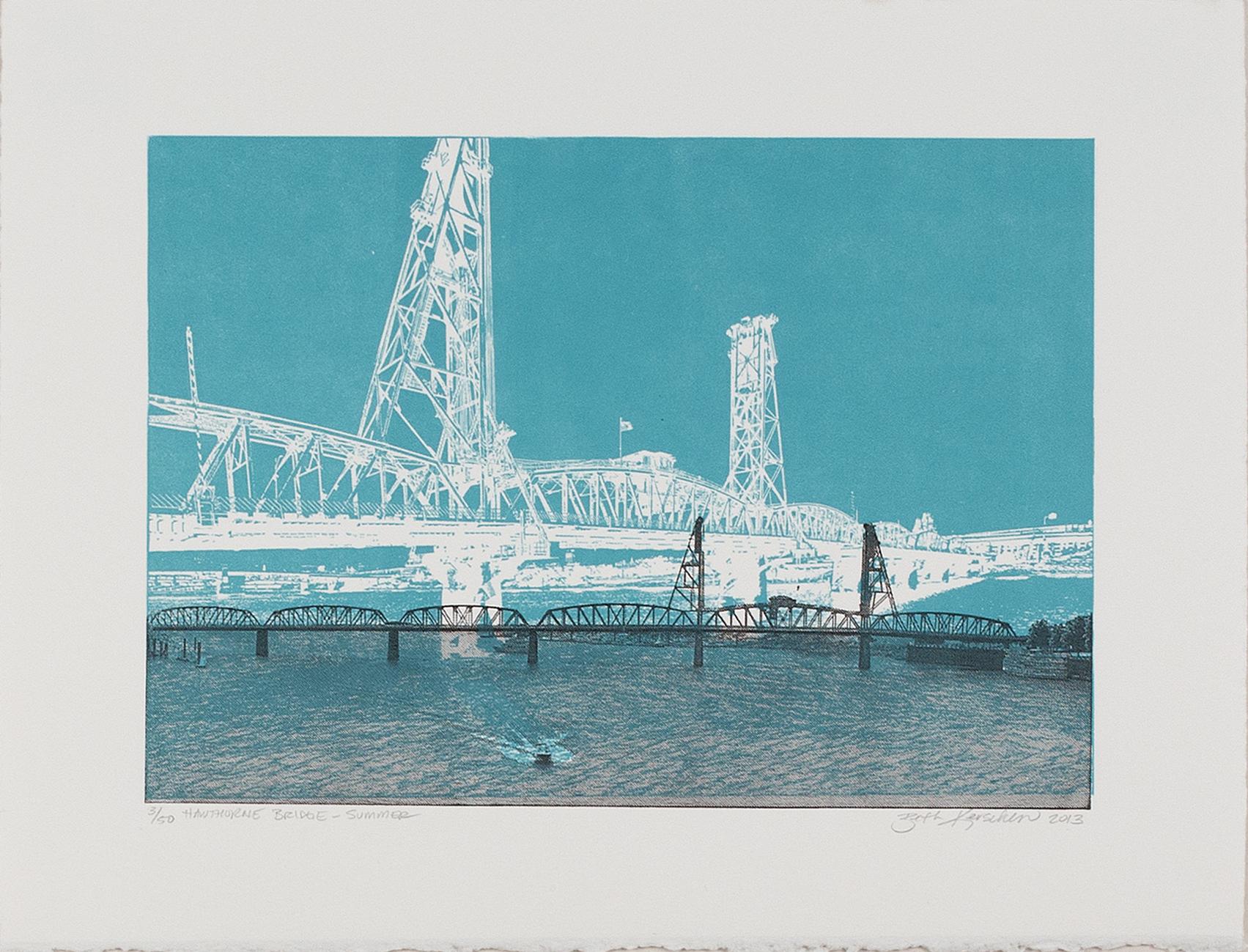 Hawthorne Bridge - Beth Kerschen