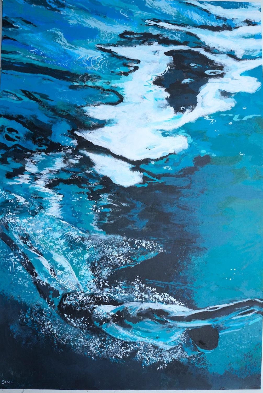 Swimmer - Sidonie Caron