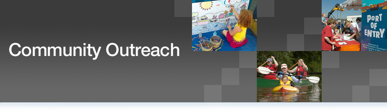 community outreach header