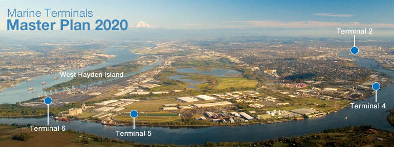 Terminal Master Plan Header