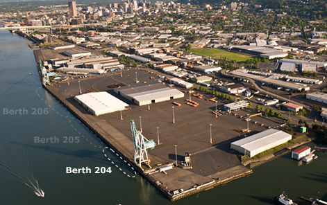 Berth 204 Location