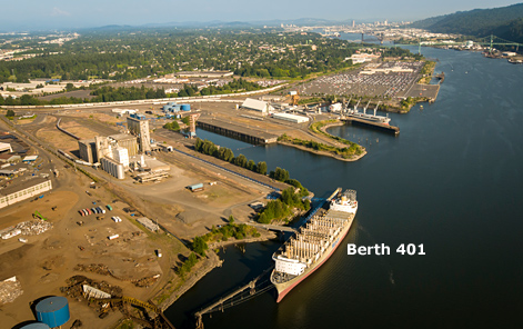 Berth 401 Location