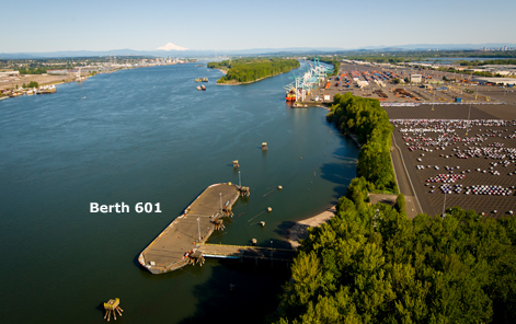 Berth 601 Location