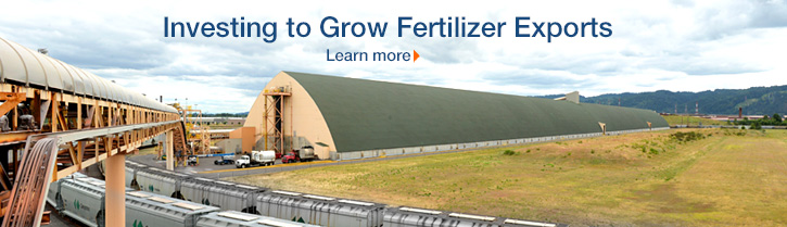 Investing to Grow Fertilizer Exports