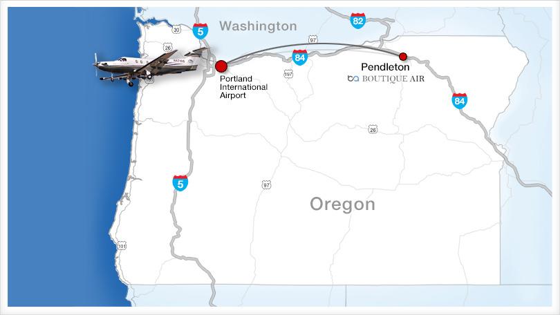Portland International Airport Intrastate Air Service