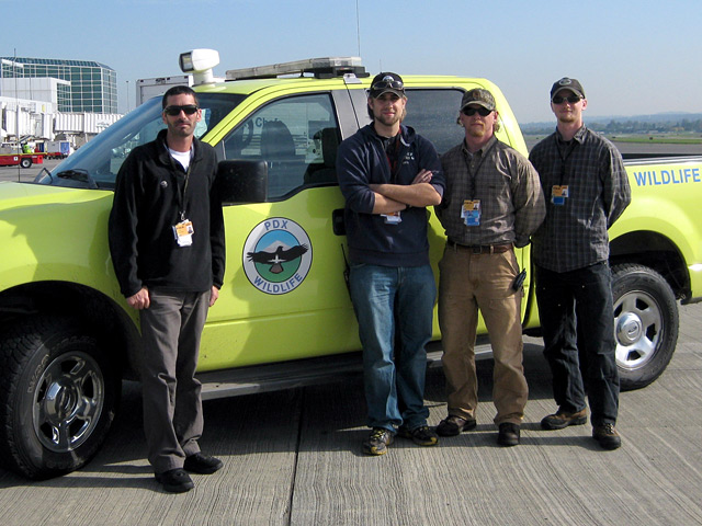 PDX Wildlife Team - Nick Atwell, John Hilterbrand, Alex Lauber and Erick Shore