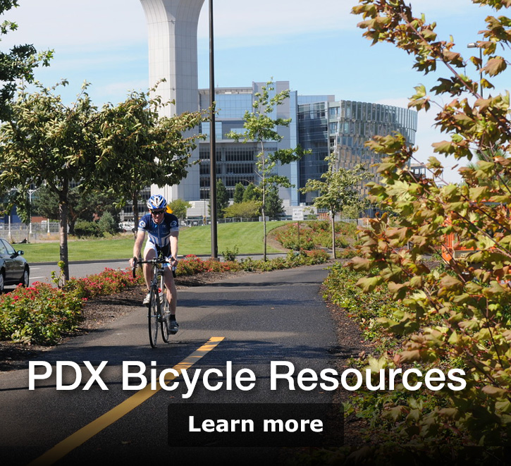 PDX Bicycle Resourse. Learn more.