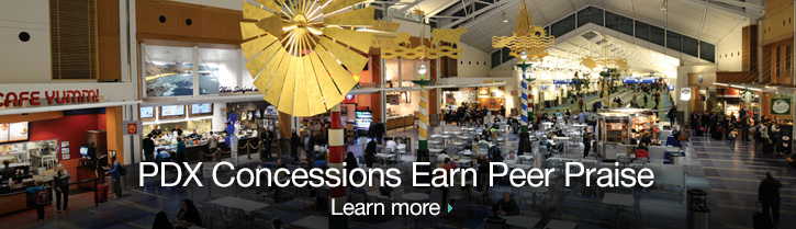 PDX Concessions Earn Peer Praise