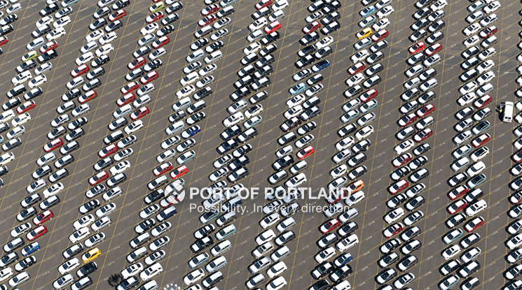 The Port of Portland is a leader on the U.S. West Coast for auto exports. Since the 1950s, well-over 11 million vehicles have come through Port facilities.