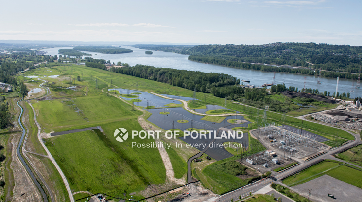 Troutdale Reynolds Industrial Park, a former Superfund site, was purchased by the Port in 2007 and is being transformed into a job center.
