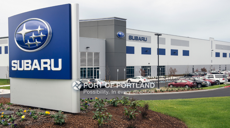 Gresham Vista Business Park is home to the 600,000 square-foot Subaru master distribution center for auto parts logistics.