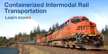 Container Intermodal Rail Transportation