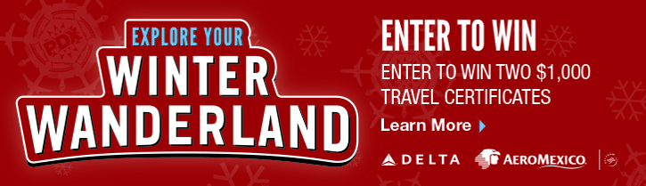 Winter Wanderland, enter to win.