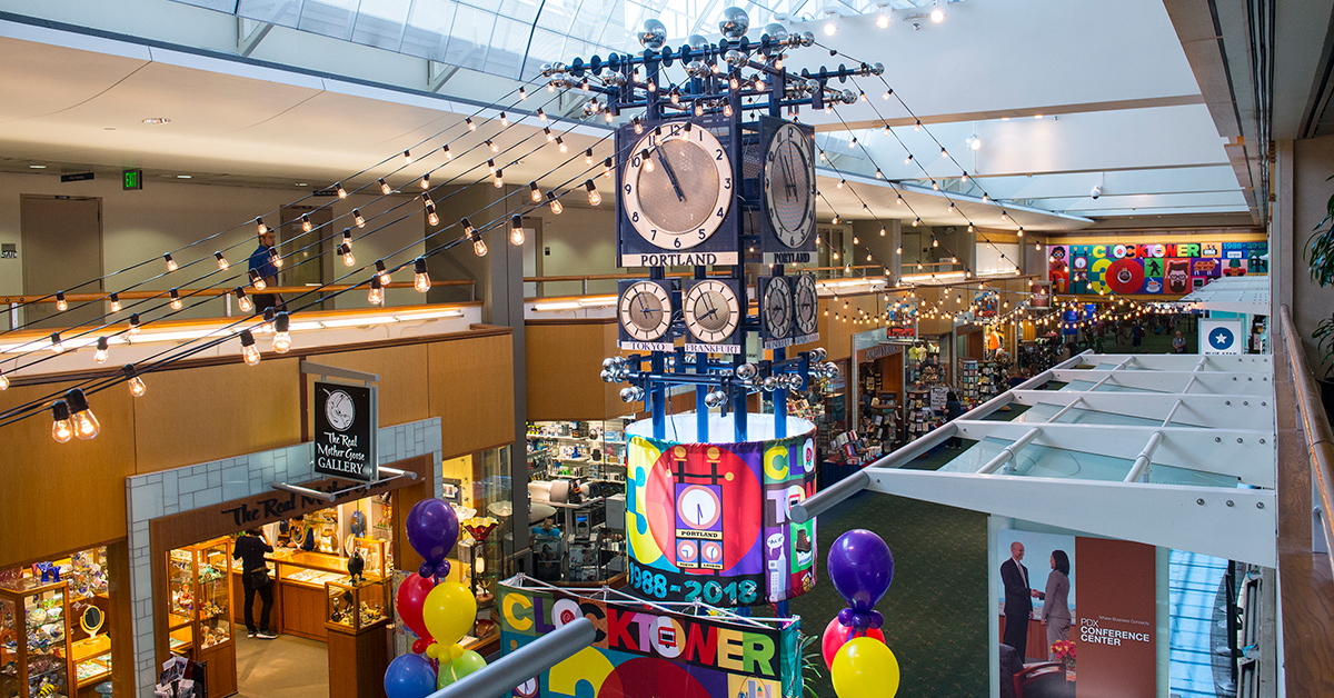 Clocktower Plaza Celebrates 30 Years at PDX, Launches Summer Events