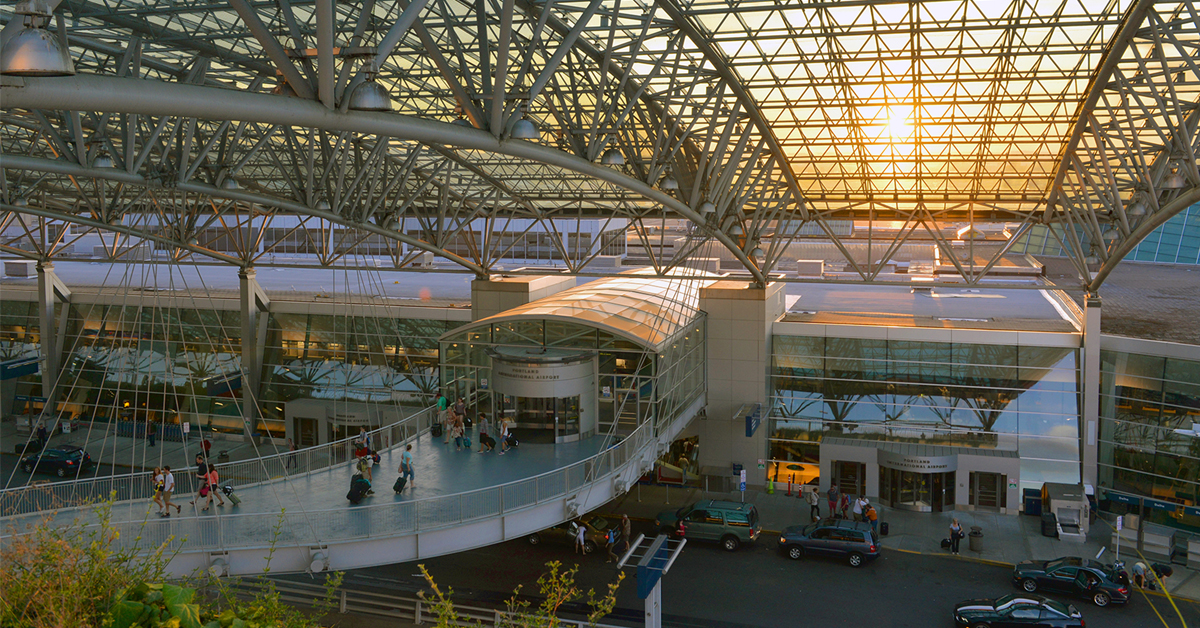 PDX Named Best Domestic Airport by Travel + Leisure