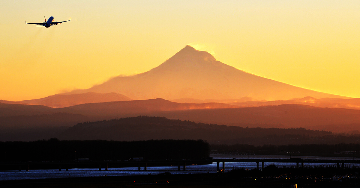 Summer Travel Sizzles at Portland International Airport